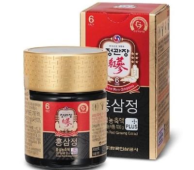 Cao hồng sâm CHEONG KWAN JANG 240g - c biệt. Thương hiệu Korea Ginseng Corporation (KGC) là tập  đoàn sản xuất Nhân Sâm uy tín, chất lượng cao cấp hàng đầu thế giới của  chính phủ Hàn Quốc. Thành phần cấu tạo: Chiết xuất sâm (3%),