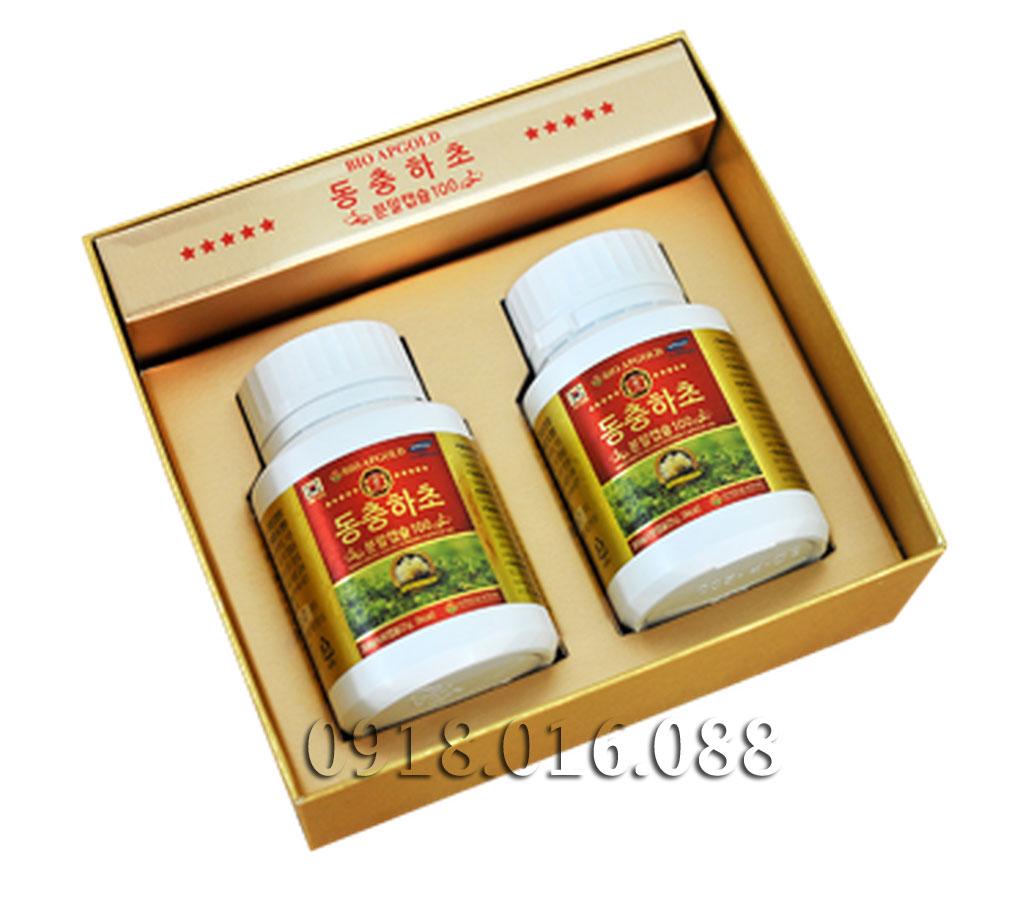 Bảng báo giá bán Viên uống đông trùng hạ thảo Hàn Quốc - ĐẠI HỒNG PHÁT 0918.016.088