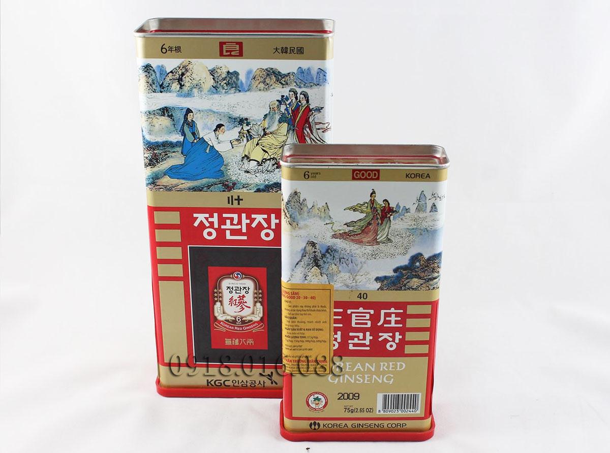 Bảng báo giá bán Hồng sâm khô Hàn Quốc - ĐẠI HỒNG PHÁT 0918.016.088