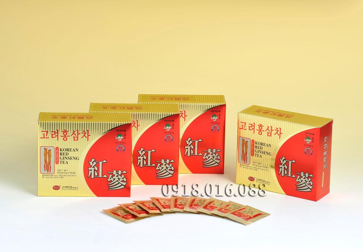 Bảng báo giá bán Trà hồng sâm Hàn Quốc - ĐẠI HỒNG PHÁT 0918.016.088